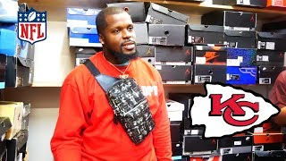 Kansas City Chiefs Go Shopping For Sneakers With CoolKicks