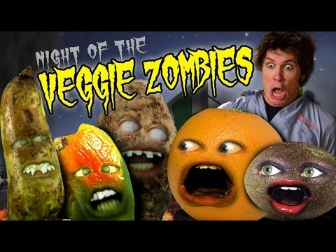 Annoying Orange HFA: Veggie Zombies (Ft. Toby Turner as Nerville!)