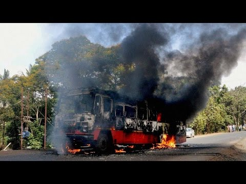 Taiwan: 26 Chinese tourist charred to death after an accident on national highway | Oneindia News
