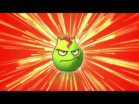 Plants vs. Zombies 2 Gameplay One Plant Power Up Vs Zombies PART 2