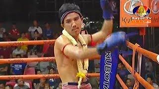 ចាន់ សាន់ Vs ស៊ែងស៊ូរិយៈ, Chan Sun, Cambodia Vs Saengsuriyak, Laos, Khmer Boxing 16 Nov 2018