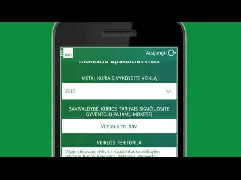 e.VMI paslaugos Jūsų telefone