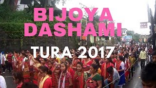 Bijoya dashami celebration Tura 2017 west garo hills
