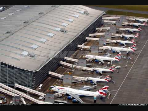 London Heathrow Airport LHR - EGLL&quot; Europe's Largest And Busiest Airport&quot;