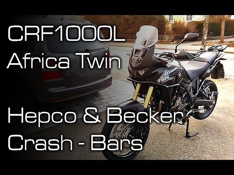 Africa Twin CRF1000L - Hepco & Becker Crash-Bars