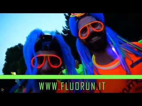 Fluo Run 2015 - 10 Luglio Milano - 17 Luglio Bergamo Spot ufficiale Radio Viva FM