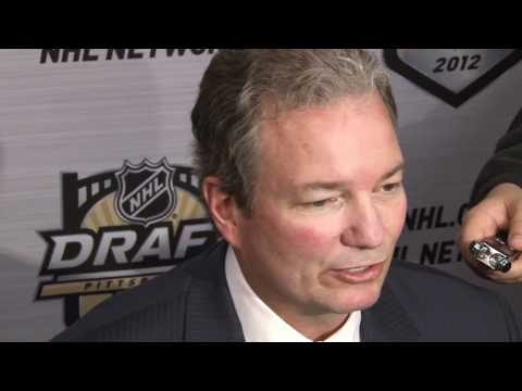 Penguins GM Ray Shero Speaks On Trading Jordan Staal