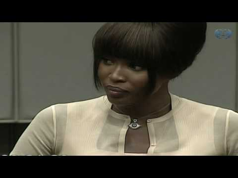 Naomi Campbell tells court of 'dirty stones' gift Video