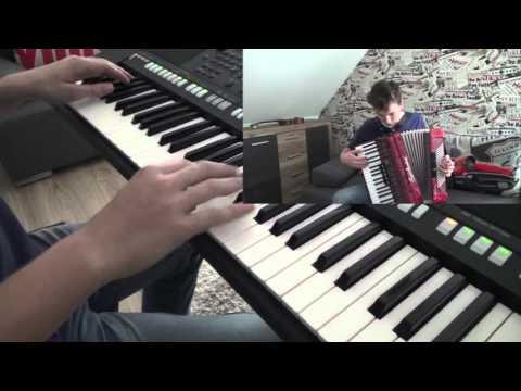 Akcent - Przekorny Los Keyboard/akordeon Cover