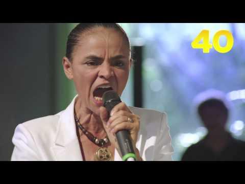 Último programa de TV do primeiro turno - tarde - Marina Silva