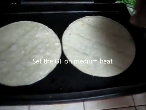 How To Make Tostadas On A George Foreman Grill - 2