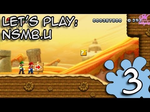L'aventure New Super Mario Bros U | Traverse du dsert + Carte limite | Episode 3