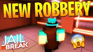 NEW ROBBERY UPDATE IN JAILBREAK FULL REVIEW! (Roblox)