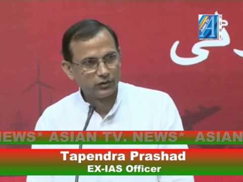 Jsv Prasad Ias Tapendra Prasad ex Ias Officer