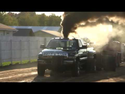 Dodge Ram 3500 Dually 24V Cummins Pure Diesel Power Pull, Ladysmith, WI 2009