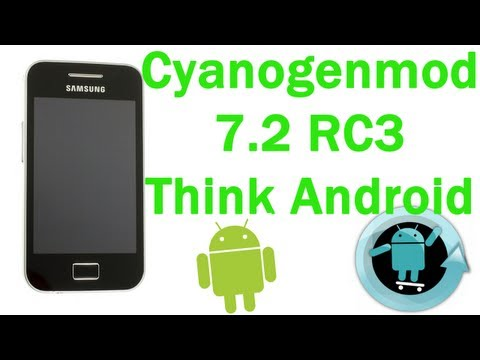 ROM Cyanogenmod 7.2 para Samsung Galaxy Ace   Análisis - TheVigoFlax