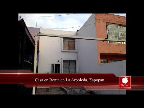 Casa en Renta en La Arboleda, Zapopan www.comprandoinmuebles.com