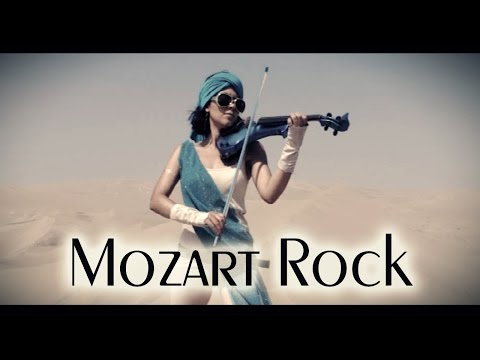 MOZART ROCK! 💿 Marcha Turca en VIOLIN ELECTRICO!!