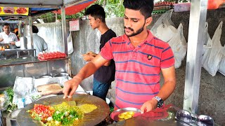 Handsome Omelette Wala || Egg Cheese Kofta Recipe || Street Food Surat City || India Street Food