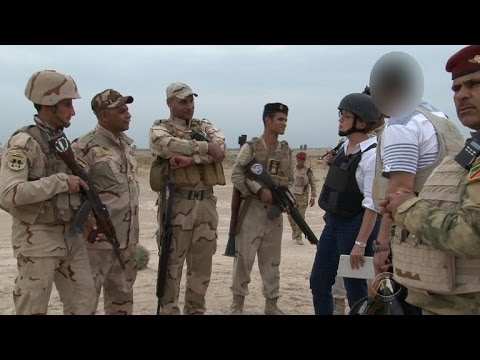 CBS News tours Baghdad's ground defense