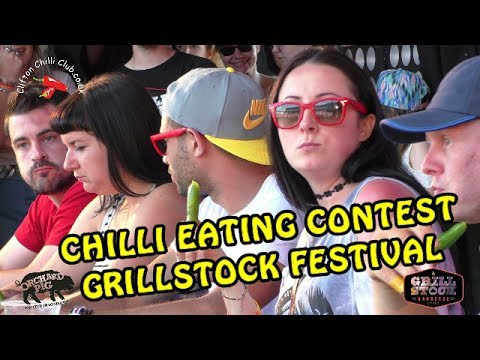Chilli Eating Contest   Grillstock Festival   Sunday 2nd July 2017