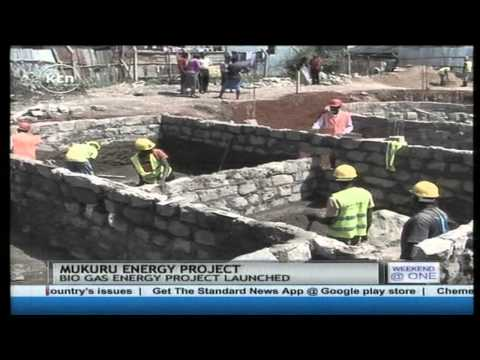 Bio gas energy project in Mukuru slum set to turn the slum life around