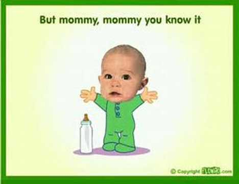 Baby Cartoon Nursing Feeling video