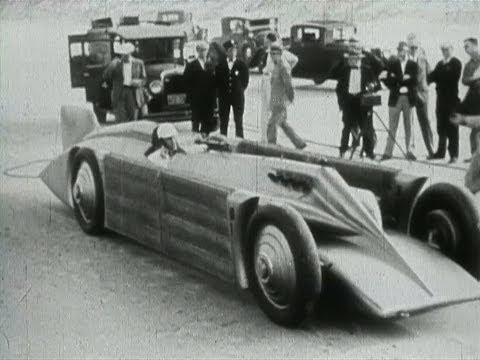 Incredible 1929 Land Speed Record The Golden Arrow