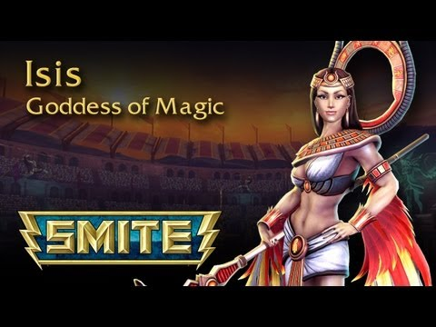 SMITE God Reveal - Isis, Goddess of Magic