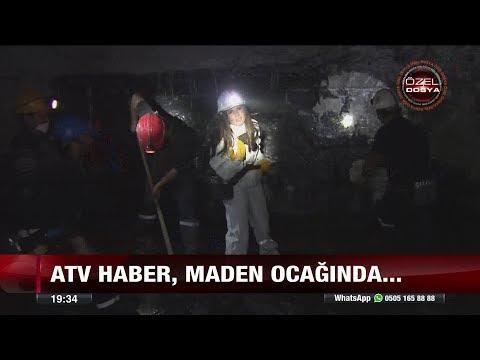 atv haber, maden ocağında - 19 Şubat 2018