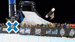 Ben Ferguson wins Men's Snowboard SuperPipe bronze | X Games Aspen 2018