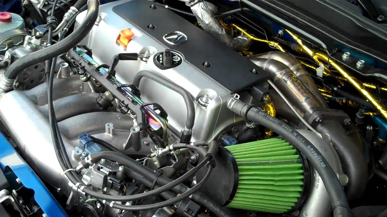 Acura Rsx Turbo Build Engine Bay Tour Youtube