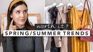 Spring/Summer Fashion Trends: What's Worth It?   by Erin Elizabeth