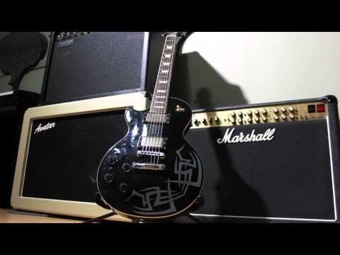 Hard Rock Guitar Solo Backing Track - Am