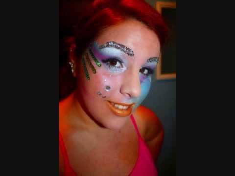 Rainbow Fish Makeup Rainbow Fish Makeup