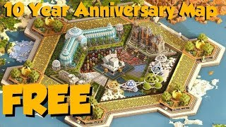 This FREE Map Celebrates 10 Years Of Minecraft