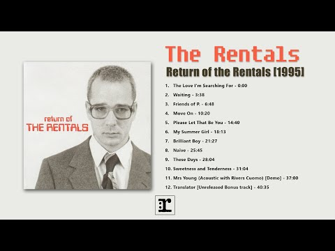 Rentals - Return Of The Rentals (album)