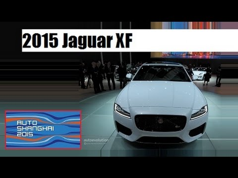 2015 Jaguar XF, live photos at 2015 Auto Shanghai !