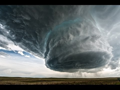 5/18/14 Wright to Newcastle, WY Supercell Time-Lapse