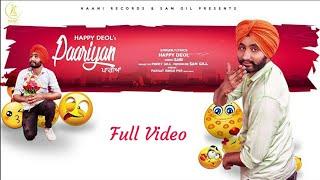 Paariyan Happy_Deol Full_Video_Song Jatt_Media Leatest_New_Punjabi_Song