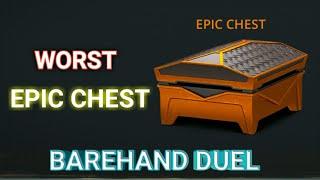 Shadow fight 3 opening epic chest|Bare hand duel|Legend league
