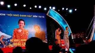 Hài trúng Số Hoài Linh, Hứa Minh Đạt ( tại hội chợ triển lãm Cà Mau)