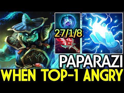 PAPARAZI [Storm Spirit] When Top-1 China Angry 7.15 Dota 2