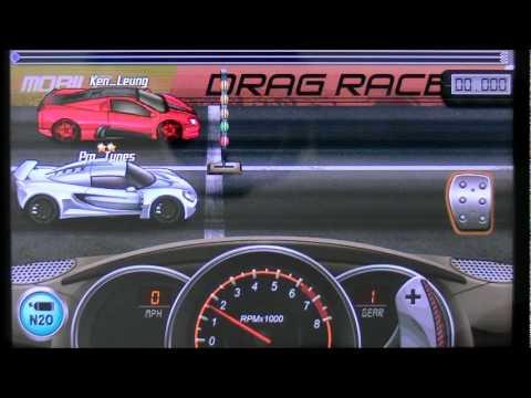 Drag Racing 2nd gear launch tutorial Venom GT 10.896