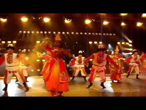 Xinjiang Uygur Dance Show - 1