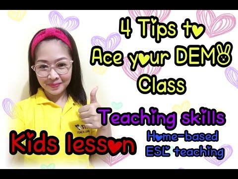 Tips For Online Demo Teaching ( 51Talk Demo ) ( ESL Demo - Kids Lesson )