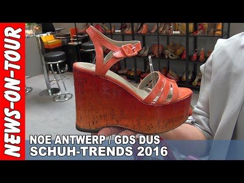 SCHUH-Trends 2016 (HD) Schuhe in 88 Farben | NOE Antwerp | GDS Messe DUS 2015