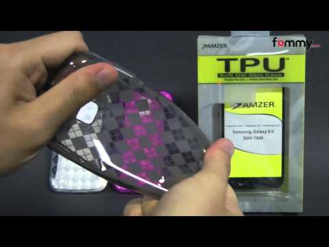 Amzer® Luxe Argyle TPU Soft Gel Skin Case for Samsung Galaxy S II Review in HD