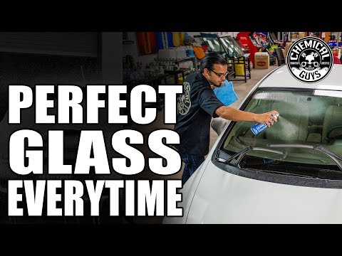 How To Get Perfect Glass Everytime! - Clean Glass Windows Easily - Chemical Guys Car Care