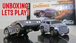 UNBOXING & LETS PLAY - Anki OVERDRIVE | Fast & Furious Edition 2017 (FULL REVIEW!)
